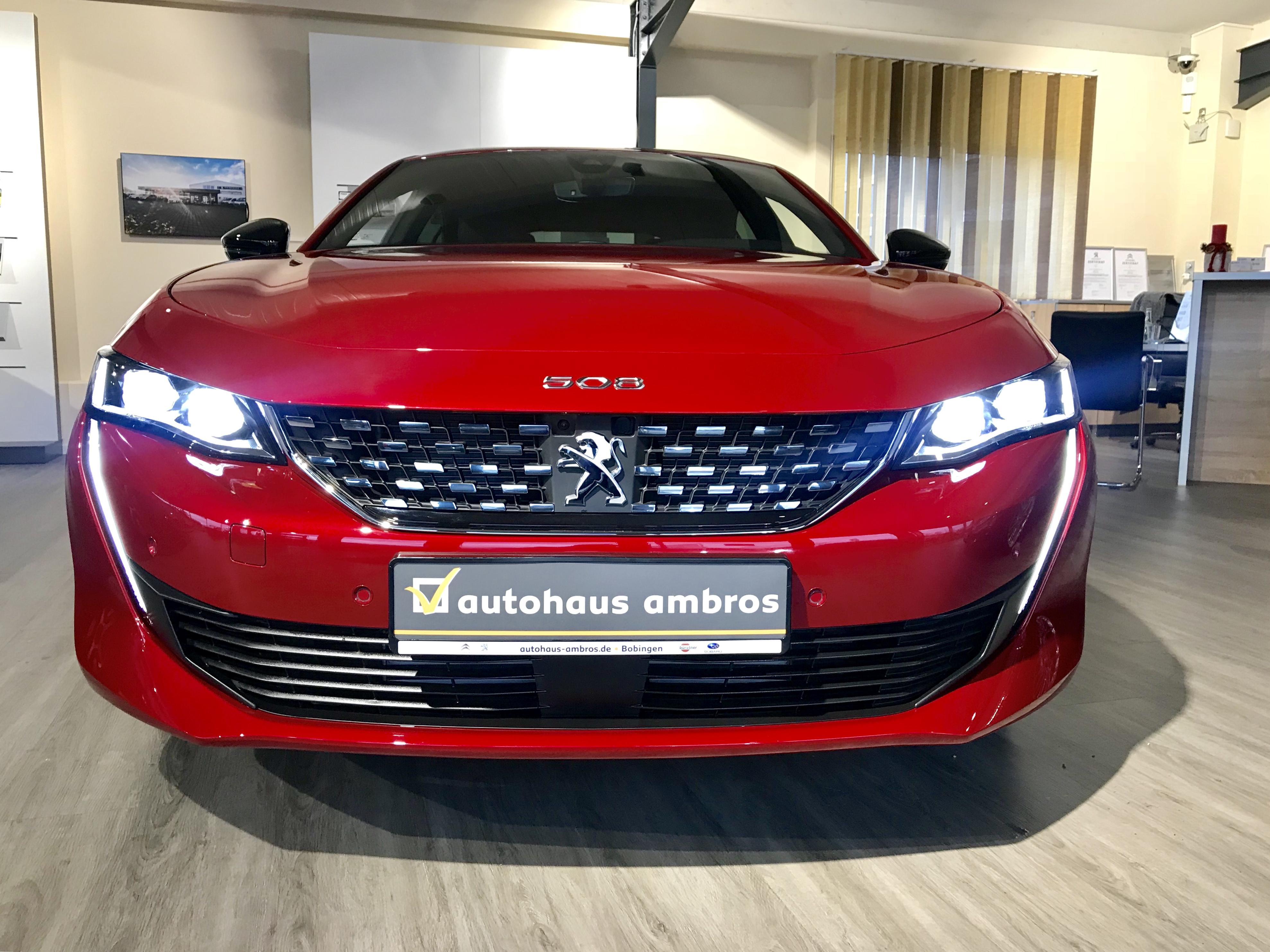 Wir haben es … das Topmodell der neuen Coupe' Limousine Peugeot 508!