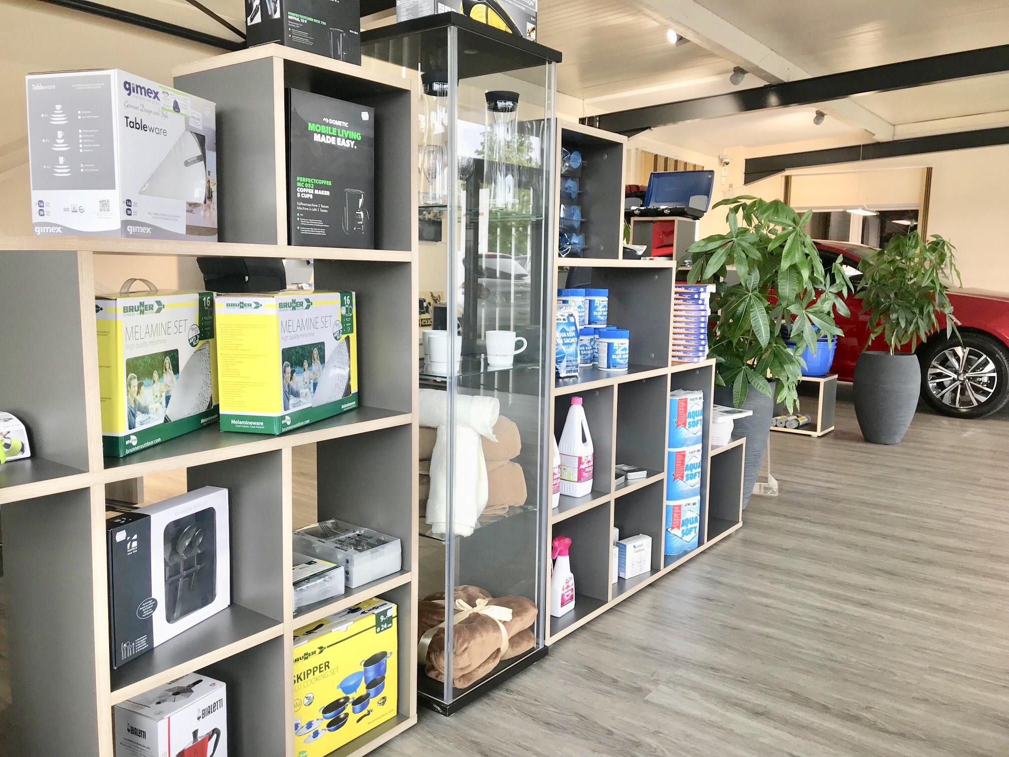 Alles rund um Wohnmobil und Wohnwagen jetzt in unserem Shop!